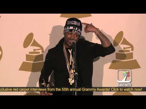 5e3ecdfbaae The-Dream responds to Jay-Z diss backstage at 55th Grammy Awards