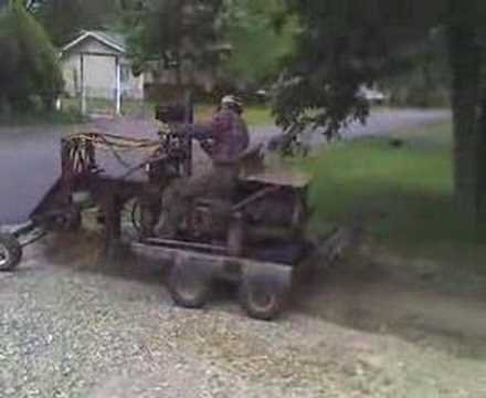 Home Made Road Grader - YouTube