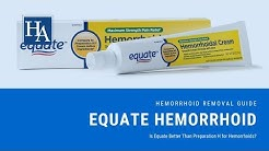 Equate Hemorrhoid Review - Is Equate Better Than Preparation H for Hemorrhoids?