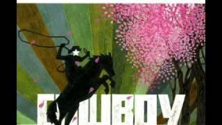 髭・tobaccojuice・アナログフィッシュの3WAY SPLIT CD、カウボーイから.