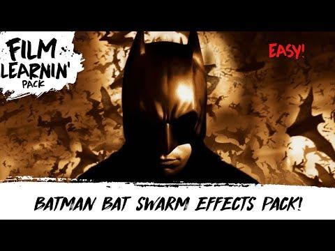Batman Free Bat Swarm Effects Pack