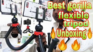 Adofys Flexible Gorillapod Tripod with 360°! Unboxing| Unboxing in Hindi |  Gorilla tripod unboxing