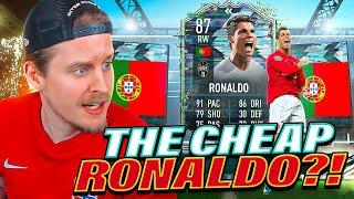 THE CHEAP RONALDO?! 87 FLASHBACK RONALDO PLAYER REVIEW! FIFA 21 Ultimate Team