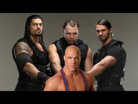 WWE The Shield Theme Song + Kurt Angle Theme Song | TLC 2017