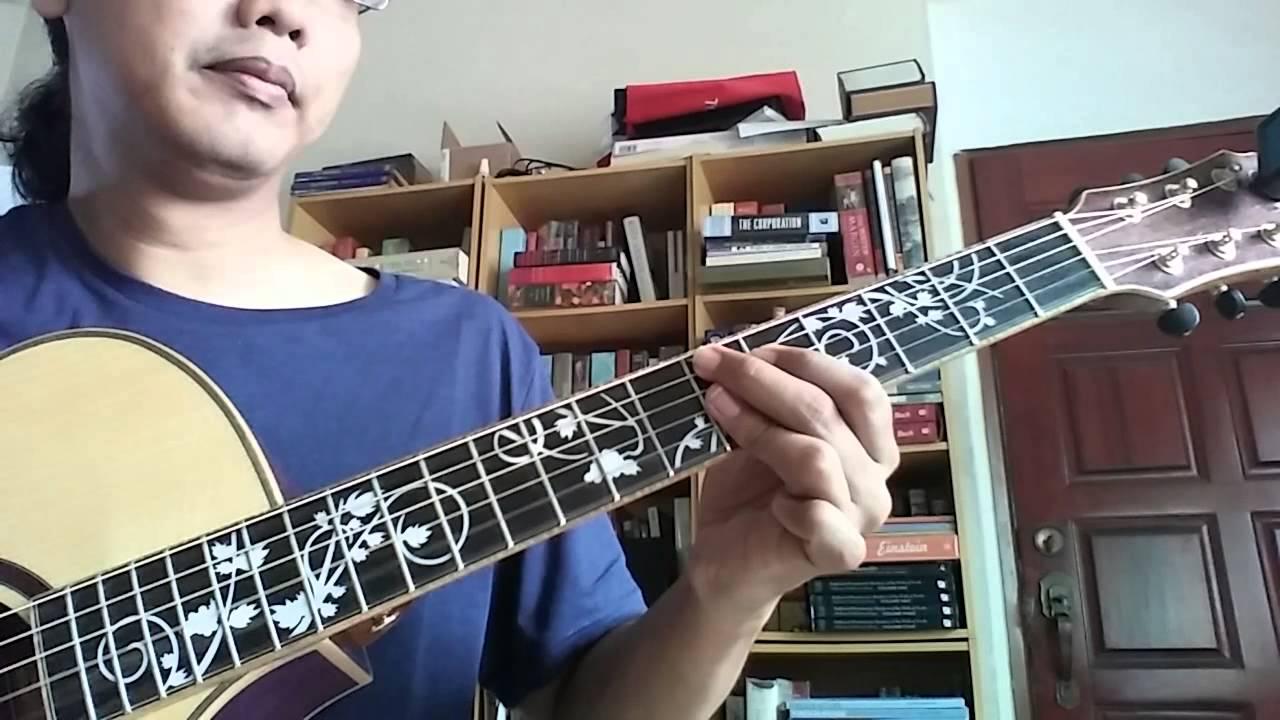 Jazz Guitar Lesson 3 Note Jazz Blues Chords In Bb Az Samad Youtube