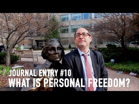 What is personal freedom?