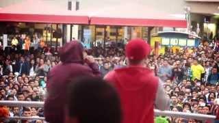 Panchito R. &  La Rana  en Mega Plaza  - No Te Enamores