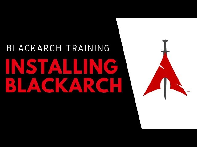 How To Install BlackArch Linux