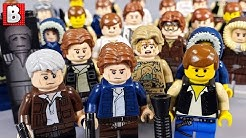 Every LEGO Han Solo Minifigure Ever Made!!! 2019 Update