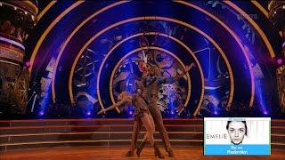 Dancing with the Stars 23 - Calvin Johnson & Lindsay Charleston | LIVE 10-3-16