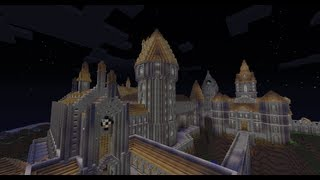 Minecraft Hogwarts Castle Tour