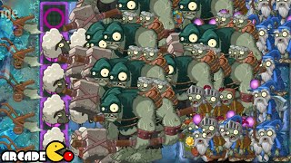 Plants Vs Zombies 2 Dark Ages: Part 2 Dark Ages Gargantuar Army Arthur's Challenge Level 90