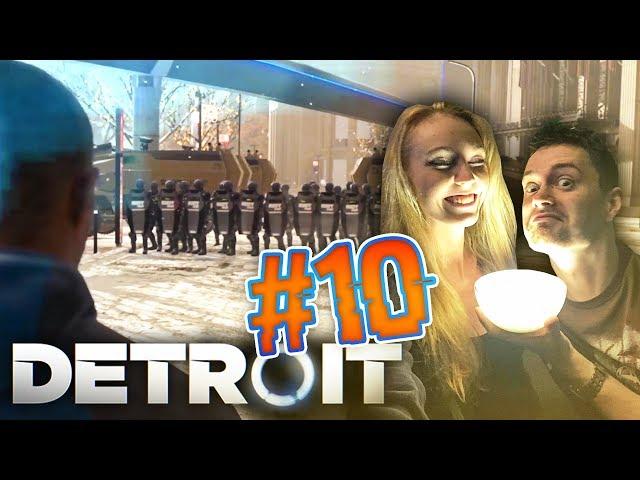 VYNÁLEZCE ANDROIDŮ! Detroit: Become Human CZ s Míšou #10