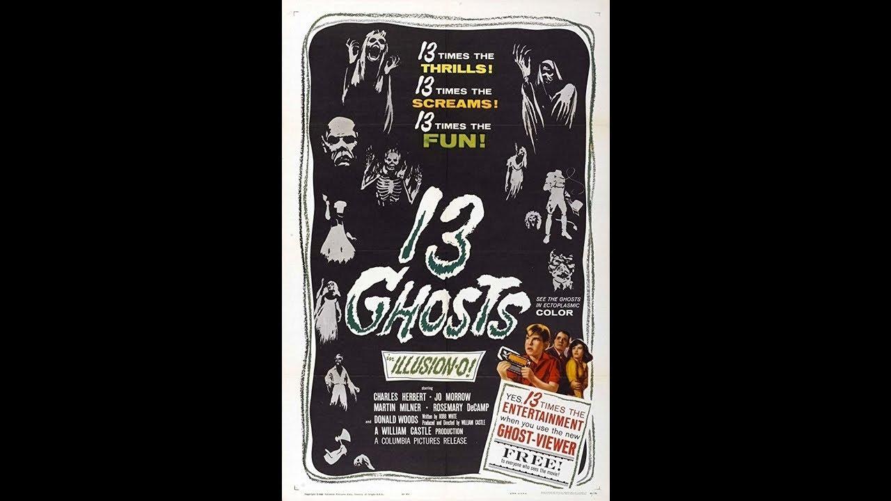 13 Ghosts - Movie Trailer (1960)