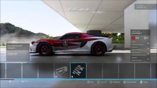Forza 6 - Lotus Exige - Parts and Tune - A Class - All rounder