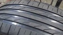 Renkaan kuviointia. Regrooving a Tire.