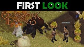 First Look - Clockwork Empires