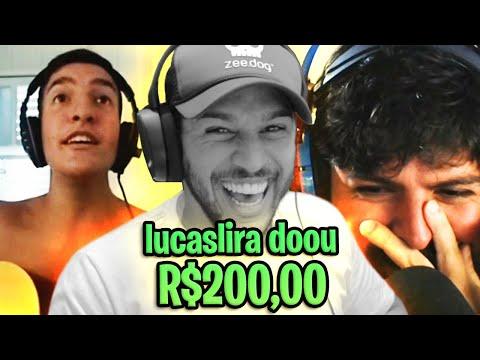 FIZ DOAÇÕES PRA STREAMERS NÃO FAMOSOS!!! 💲 R$800,00 💲