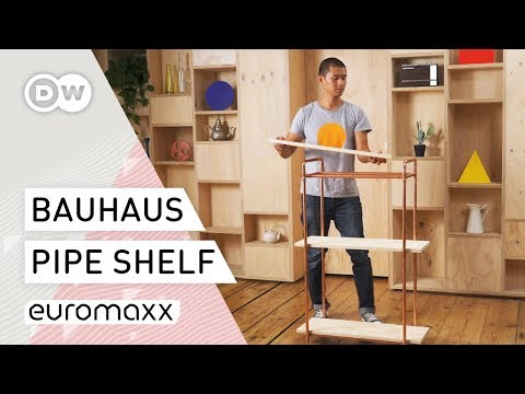 How To Bauhaus - Pipe Shelf Tutorial | Bauhaus Design Idea | DIY Project