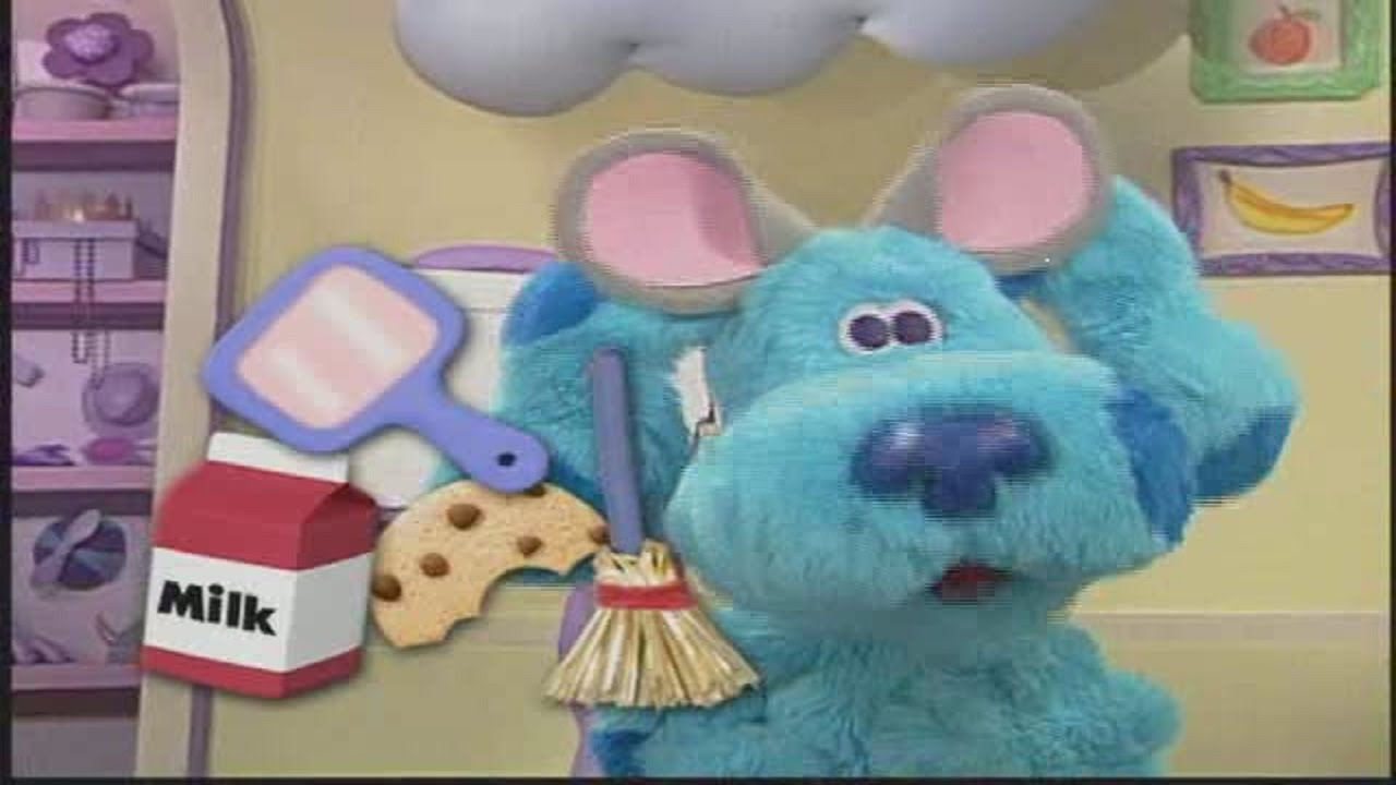 Blues Clues Cartoon Show Blues Room Snacktime Playdate
