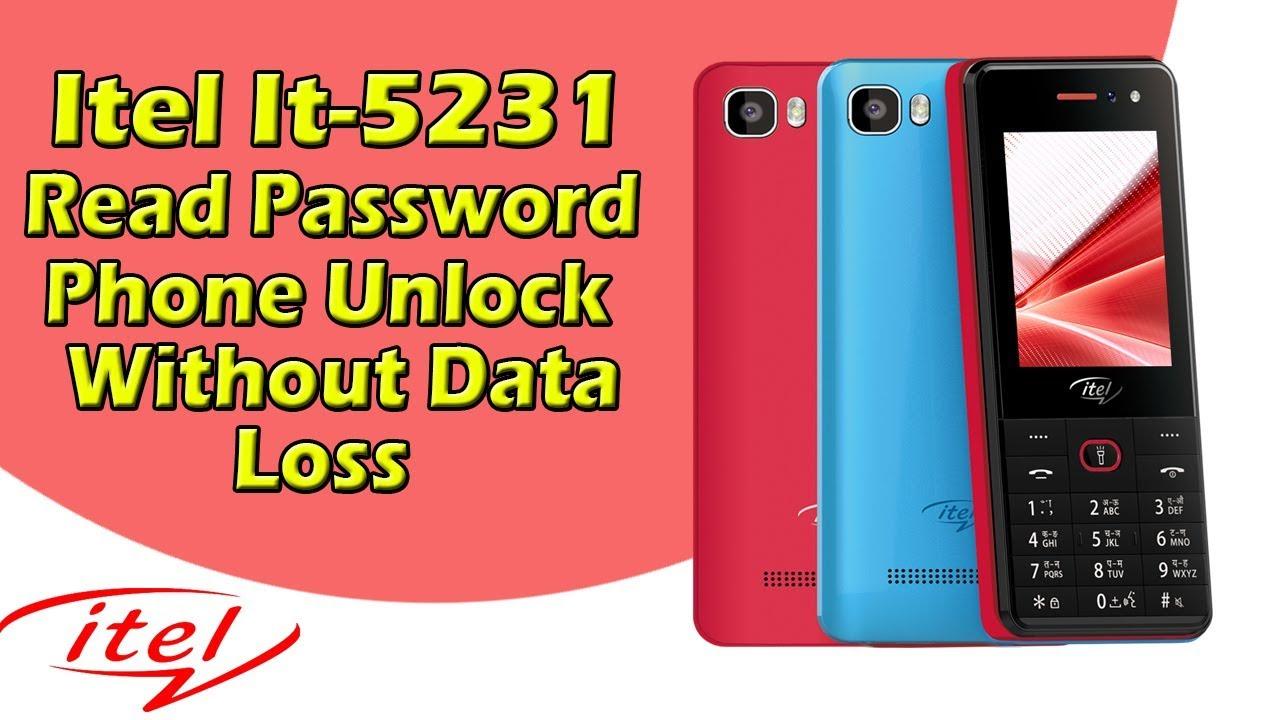 dc47a4df88c Itel It5231 Read Password Phone Unlock - YouTube