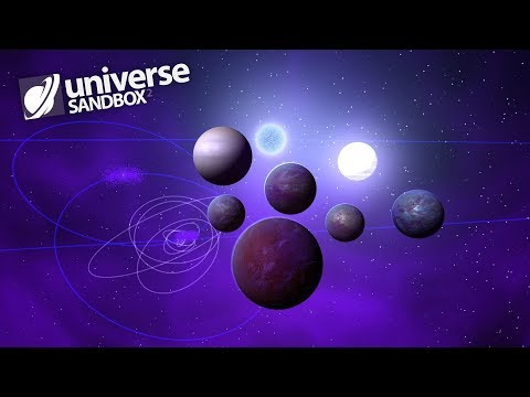 Making A Solar System Out Of Purple Objects, Universe Sandbox ²