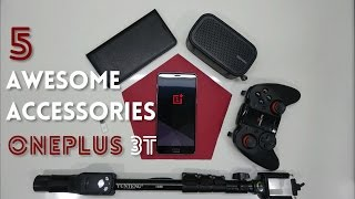Video 5 Awesome Accessories for the OnePlus 3T download MP3, 3GP, MP4, WEBM, AVI, FLV Juni 2018