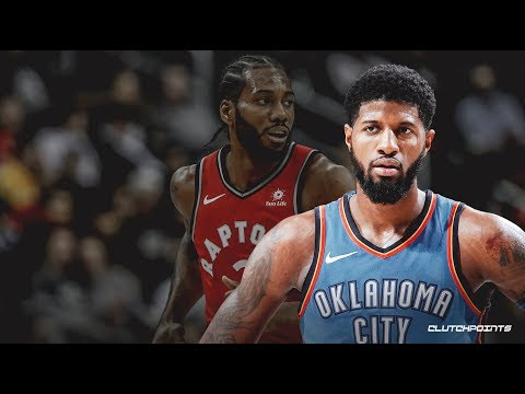 Kawhi Leonard Signing with the LA Clippers + Trading for Paul George  (Breaking News)