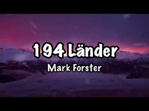 Mark Forster - 194 Länder (Lyrics)