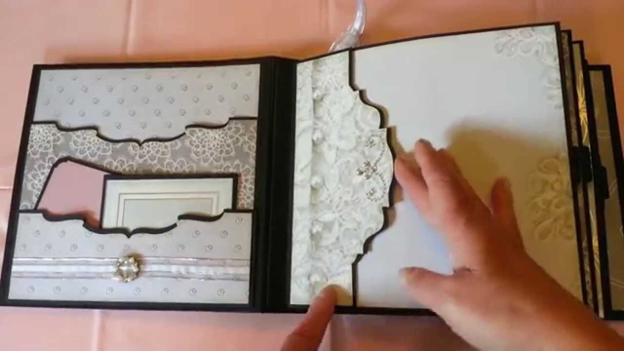 wedding mini album youtube. Black Bedroom Furniture Sets. Home Design Ideas