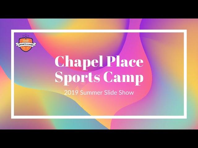 CPSC 2019 Summer Slide Show