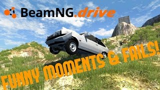 Cover images BeamNG.drive Funny Moments & Fails! Ep.1