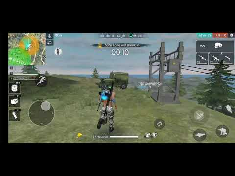 New Glider in free fire and hidden places