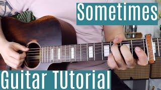 Sometimes (Backwood) - Gigi   Guitar Tutorial/Lesson   Tik Tok     Easy How To Play (Chords)