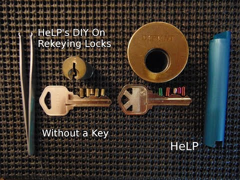 [44] DIY How To Easily Rekey Your Door Without A Key