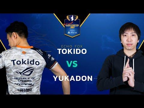 SFV: Echo Fox | Tokido vs Yukadon - Capcom Cup 2017 Top 8 - CPT2017