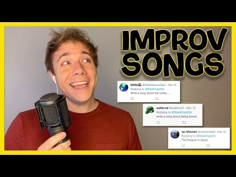 I turned TWEETS into SONGS! 😅 (They are pretty bad...)