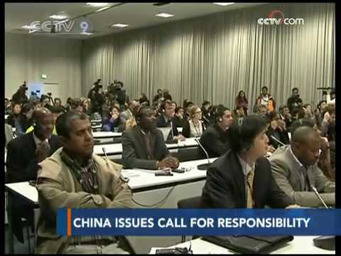 China call developed countries to take responsibility and stick to Kyoto Protocol - CCTV 091216