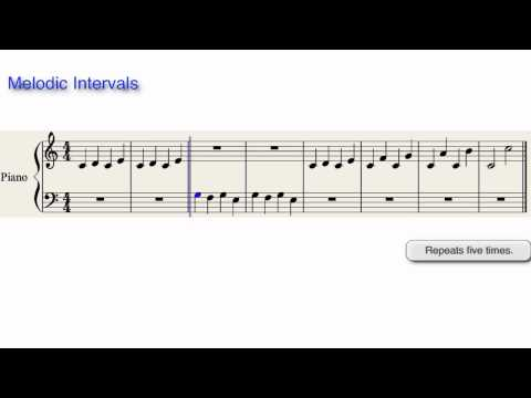Melodic Intervals Video