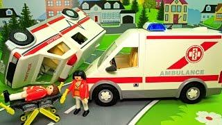 Мультфильм для детей - Хулиганы и Авария Скорой помощи! Мультики про машинки - развивающие мультики!