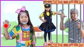 ANNY FINGE SER POLICIAL 1 e 2 / AS HISTÓRIAS DO DODÓI da ANNY  - The boo boo story