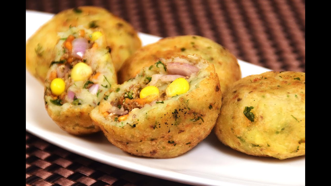 paneer corn pyaaz kachori easy indian starters party