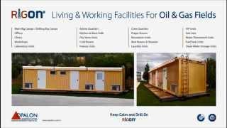 OPALON préfabriqués Gréement forage Camp mobile soudé Container RIGON