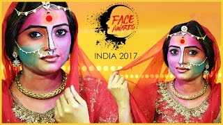 Indian Women Showing Colors of India - UNITY IN DIVERSITY / NYX #FACEAWARDSINDIA 2017 ENTRY