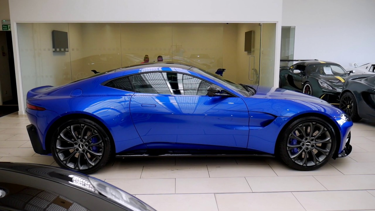 2018 Aston Martin Vantage Revs Exterior And Interior Walkaround