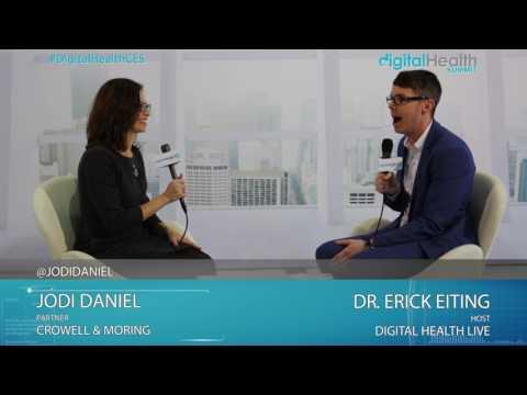 Jodi Daniel (Crowell & Moring) Interview @ 2017 Digital Health & Fitness LIVE