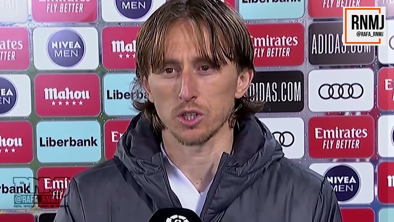 Declaraciones de MODRIC post Real Madrid 2-2 Sevilla (09052021) JORNADA 35