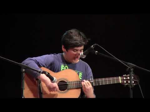 Actuación de Daniel Uroz. Alumno de 1º ESO.