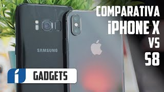 Comparativa: iPhone X vs Samsung Galaxy S8 en español