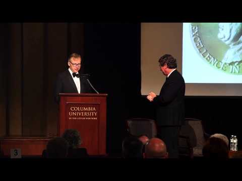 The 2014 John Chancellor Award Dinner & Ceremony Honoring Martin Smith